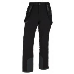 Kilpi Methone-M černá pánské nepromokavé zimní lyžařské kalhoty