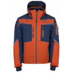 Kilpi Io-M oranžová pánská nepromokavá zimní lyžařská bunda (1)