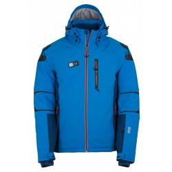 Kilpi Carpo-M modrá, model 2017/2018 pánská nepromokavá zimní lyžařská bunda (1)