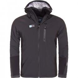 Kilpi Carpo-M tmavě šedá pánská nepromokavá zimní lyžařská bunda (1)