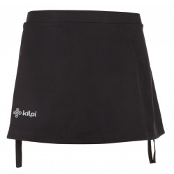 Kilpi Titicaca-W černá dámská sportovní sukně (1)