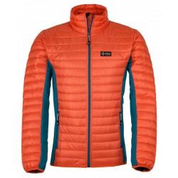Kilpi Isaiah-M oranžová pánská zimní bunda (1)