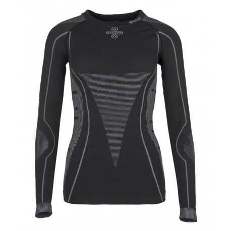 Kilpi Nixtop-W černá dámské triko dlouhý rukáv