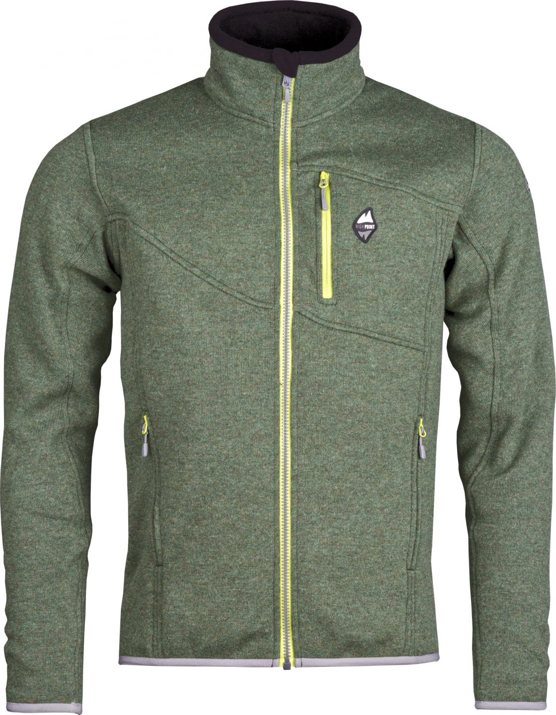 High Point Skywool 3.0 Sweater fall green pánský vlněný svetr Tecnowool fe07a498b2