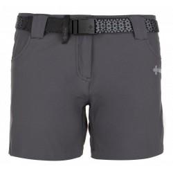 Kilpi Sunny-W tmavě šedá dámské turistické šortky
