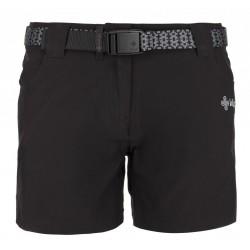 Kilpi Sunny-W černá dámské turistické šortky