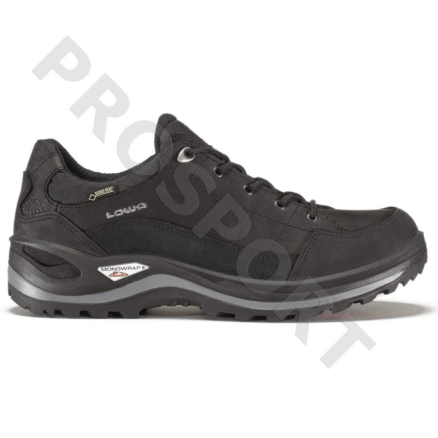 Lowa Renegade III GTX LO wide black pánské nízké nepromokavé kožené boty 3c45963470