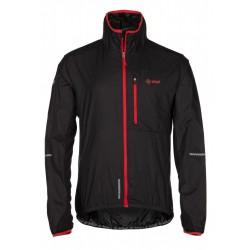 Kilpi Airrunner-M černá pánská větruodolná bunda