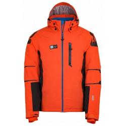 Kilpi Carpo-M oranžová pánská nepromokavá zimní lyžařská bunda badc15c4c12