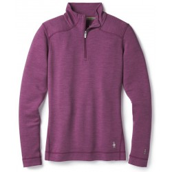Smartwool W MERINO 250 BASELAYER 1/4 ZIP meadow mauve