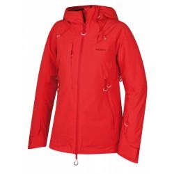 Husky Gombi L jemná červená dámská nepromokavá zimní lyžařská bunda 1