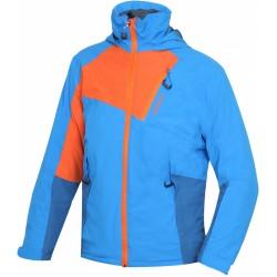 Husky Zawi Junior modrá dětská nepromokavá zimní lyžařská bunda HuskyTechStretch 15000