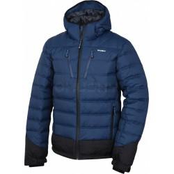 Husky Fadin M tmavě modrá pánská zimní péřová bunda