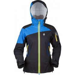 High Point Radical 2.0 Lady Jacket black/blue dámská nepromokavá bunda BlocVent Pro 3L DWR