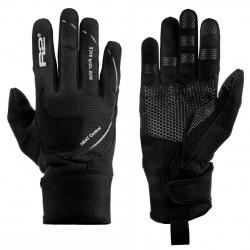 R2 Blizzard ATR03D černá unisex softshellové rukavice