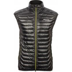 Pinguin Hill Vest černá pánská lehká péřová vesta