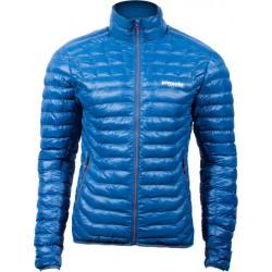 Pinguin Glimmer Jacket petrolejová pánská zimní bunda BHB Synthetic Down (1)