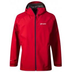 Berghaus Paclite 2.0 Shell Jacket M red pánská nepromokavá bunda