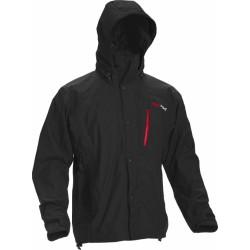 High Point Thunder Jacket black/red zip pánská nepromokavá bunda BlocVent 2L SDWR