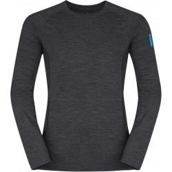 Zajo Bjorn Merino T-shirt LS black pánské triko dlouhý rukáv Merino vlna