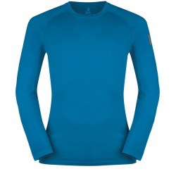 Zajo Bjorn Merino T-shirt LS greek blue pánské triko dlouhý rukáv