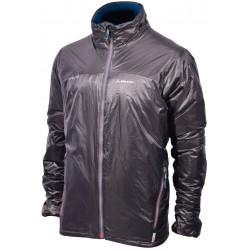 Pinguin Fluidum Jacket šedá/petrolejová pánská zateplovací bunda