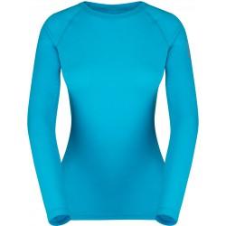 Zajo Elsa Merino W T-shirt LS curacao dámské triko dlouhý rukáv