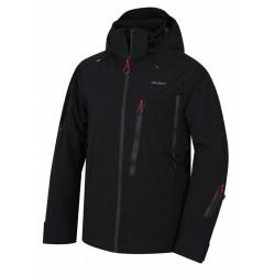 Husky Mayni M červená pánská nepromokavá zimní lyžařská bunda