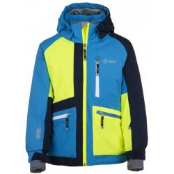 Kilpi Jackyl-JB modrá dětská nepromokavá zimní lyžařská bunda