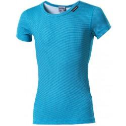 Progress Micro Sense MS NKRD tyrkysová dětské funkční tričko s krátkým rukávem