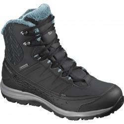 Salomon Kaina Mid GTX phantom/black/hydro 404735 dámské zimní nepromokavé boty