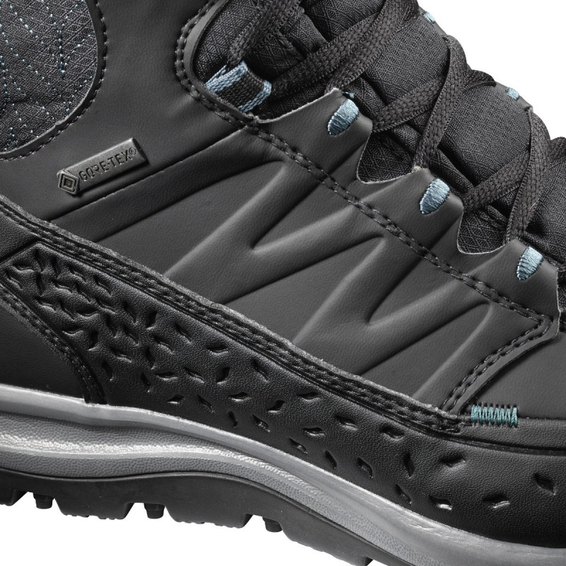 c9ce9222547 ... Salomon Kaina Mid GTX phantom black hydro 404735 dámské zimní  nepromokavé boty (5 ...
