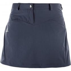Salomon Wayfarer Skirt W graphite 401093 dámská lehká softshellová sukně