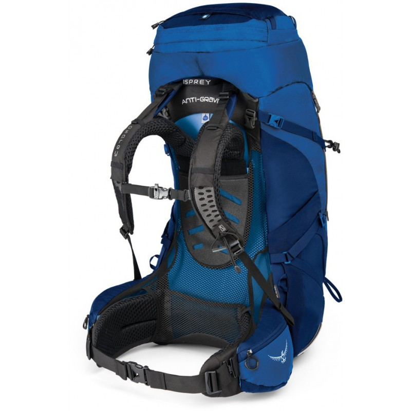 8ff90161358 ... Osprey Aether AG 85l MD expediční batoh neptune blue2