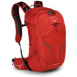 Osprey Syncro 20l II cyklistický batoh firebelly red
