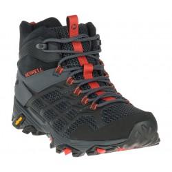 Merrell Moab FST 2 Mid GTX black/granite J77485 pánské trekové nepromokavé boty