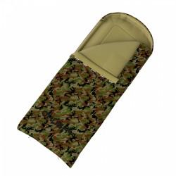 Husky Gizmo Army -5°C třísezónní dekový spací pytel