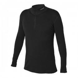Jitex Kacun 902 TSS černá pánské triko dlouhý rukáv zip Merino vlna