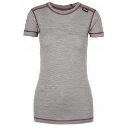 Kilpi Merin-W tmavě šedá dámské triko krátký rukáv Merino vlna