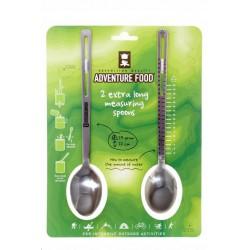 Adventure Food Extra Long Measuring Spoons nerezové lžíce 2 ks