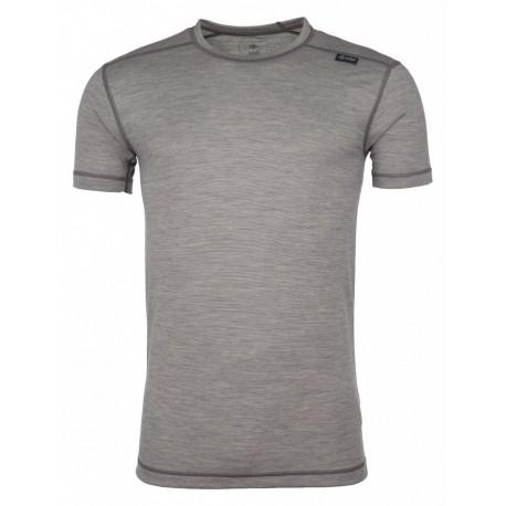 Kilpi Merin-M tmavě šedá pánské triko krátký rukáv Merino vlna