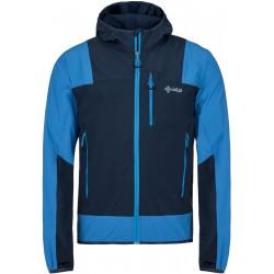 Kilpi Joshua-M BLU modrá pánská větruodolná bunda