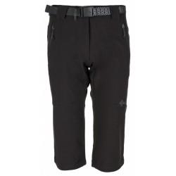 Kilpi Dalarna-W černá dámské turistické 3/4 kalhoty