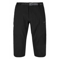 Kilpi Otara-M černá pánské turistické tříčtvrteční kalhoty