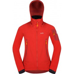 Zajo Air LT Hoody Jkt racing red pánská softshellová bunda