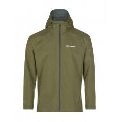 Berghaus Paclite 2.0 Shell Jacket M khaki pánská nepromokavá bunda Gore-Tex Paclite