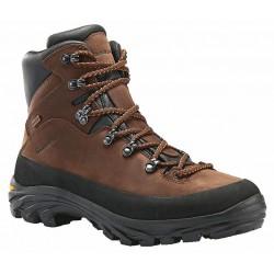 _Garsport Moose WP marrone pánské nepromokavé kožené trekové boty