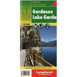 Freytag a Berndt WKI 01 Gardasee/Lago di Garda 1:50 000 turistická mapa