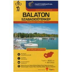 Cartographia Balaton 1:90 000 turistická mapa