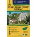 Cartographia Gömör-Tornai-Karszt-Cserehát (Aggtelek) 1:40 000 turistická mapa
